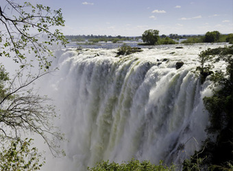 Photo: Victoria Falls (Zambia side)