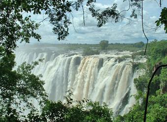 Photo: Victoria Falls (Zimbabwe side)